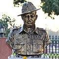 Major Dhan Singh Thapa statue at Param Yodha Sthal Delhi.jpg