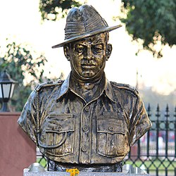 Dhan Singh Thapa  statue