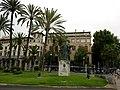 Majorque Palma Carrer Muelle Statue Ramon Llull - panoramio.jpg