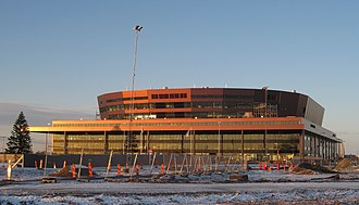 2014 World Junior Ice Hockey Championships - Image: Malmö Arena 2008
