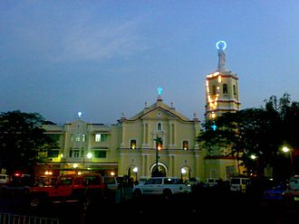 First Philippine Republic - The Malolos Cathedral Basilica. The Palacio Presidencia and Office of the President Emilio Aguinaldo from September 1898 - March 1899.