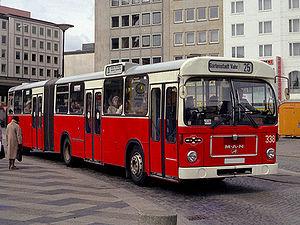 VöV-Standard-Bus - a MAN articulated bus based on the VöV-I bus concept