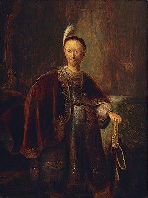 Isaac de Jouderville - Man in an Oriental costume