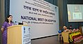 Maneka Sanjay Gandhi addressing at the inauguration of the National Meet on Adoption, organised by the Central Adoption Resource Authority (CARA), in New Delhi. The Secretary, Ministry of Women and Child Development.jpg