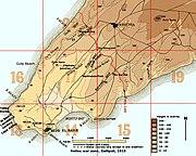 MapHellesWarZoneGallipoli1915