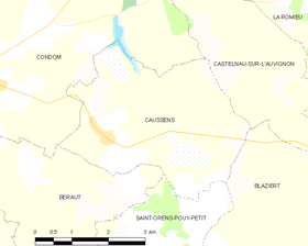 Map commune FR insee code 32095.png