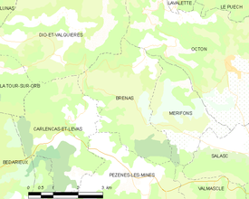 Map commune FR insee code 34040.png