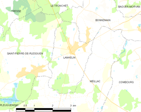 Map commune FR insee code 35147.png