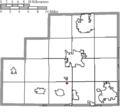 Map of Medina County Ohio Highlighting Gloria Glens Park Village.png