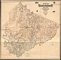 Map of Yazoo County, Miss. - containing the public roads, schools, churches, precincts, farms, residences, gins etc. etc. LOC 2012593696.jpg
