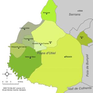 Requena-Utiel - Municipalities of Requena-Utiel