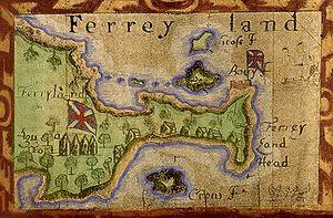 Ferryland - Image: Mapof ferryland