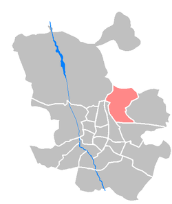 Location of Hortaleza