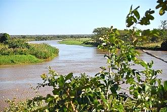 Maputo River - Maputo River in Mozambique