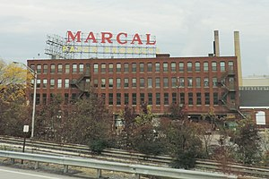 Elmwood Park, New Jersey - Marcal paper factory in Elmwood Park