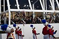 Marching band performs at 57th Presidential Inauguration Review Stand 130121-Z-QU230-262.jpg