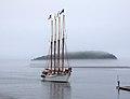 Margaret Todd a foggy day in Bar Harbor 2 (6234346465).jpg