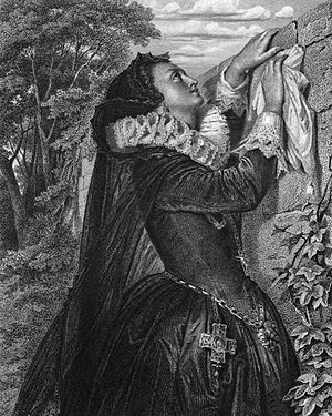 Mary Stuart (play) - Mary Stuart (drawing by Arthur von Ramberg (1859))