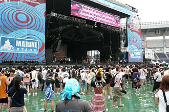Summer Sonic Festival - Marine Stage in Chiba (c.2008)