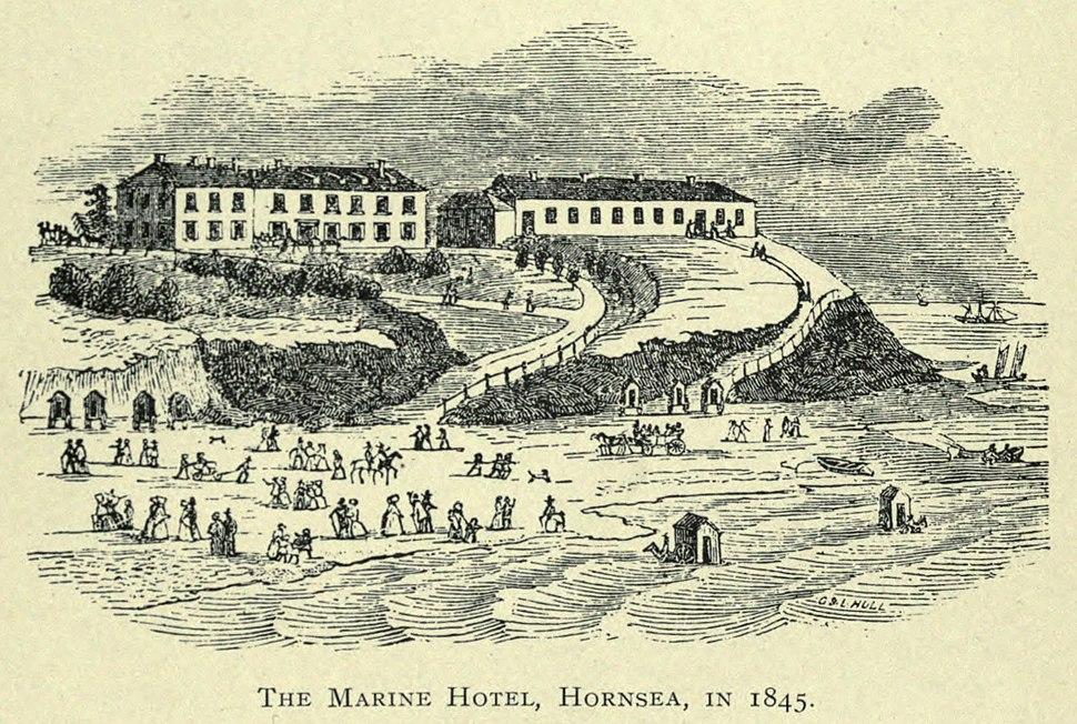 Marine hotel hornsea 1845