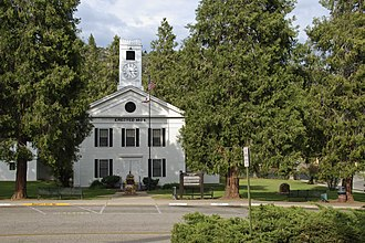 Mariposa County, California - Image: Mariposa County Courthouse, 5088 Bullion Street, Mariposa, California