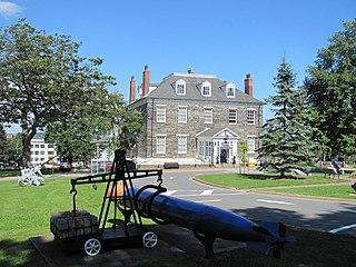 Naval museum in Nova Scotia, Canada
