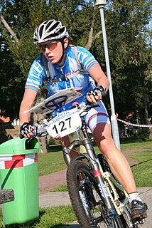 Markéta Jirásková Czech mountain bike orienteer