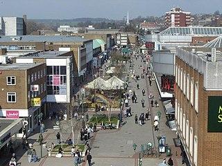 Hemel Hempstead Town in Hertfordshire, England