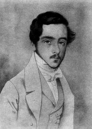 José de Salamanca, 1st Count of los Llanos - Portrait of the young José de Salamanca.