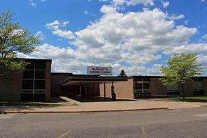 Marquette Senior High School (Marquette, Michigan) - Image: Marquette Senior High School