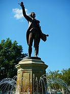 Marquis de La Fayette Fountain; LaGrange, GA