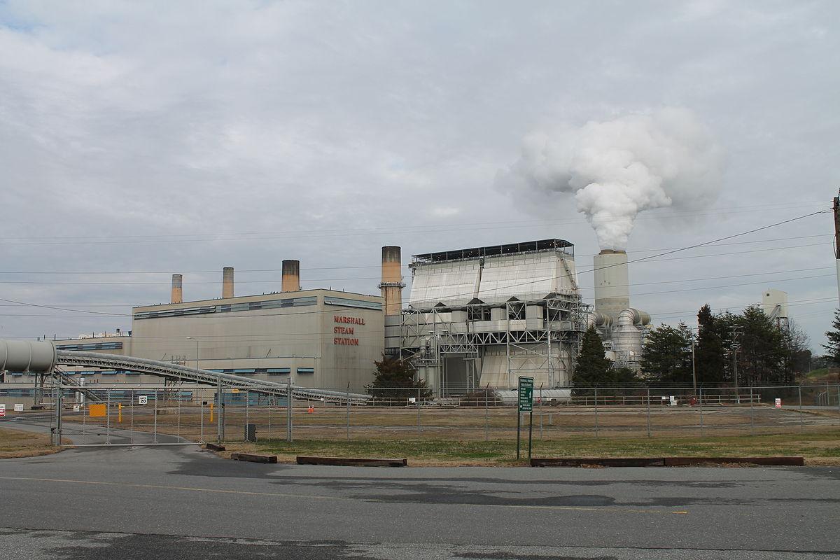 Marshall Steam Station - Wikipedia