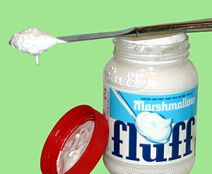 English: Marshmellow fluff