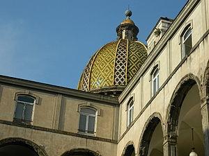 San Pietro Martire, Naples - Cupola with Majolica Tiles