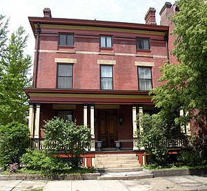 Mary Roberts Rinehart - House where Mary Roberts Rinehart lived, and wrote The Circular Staircase, at 954 Beech Avenue in the Allegheny West neighborhood of Pittsburgh, Pennsylvania