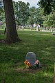 Mary Surratt grave section 12 - long view - Mt Olivet - Washington DC - 2014.jpg