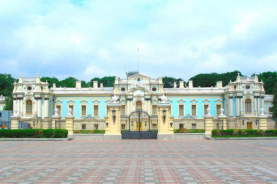 Maryinsky Palace, residence of the Ukrainian President