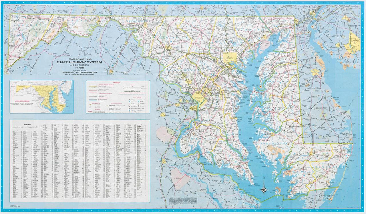 FileMaryland State Highway Map  1980pdf  Wikimedia Commons