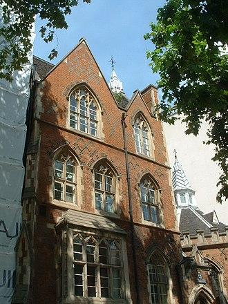 St Marylebone Grammar School - The original building, in August 2011