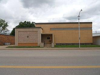 Grant County, Oklahoma - Pond Creek Masonic Lodge No. 125