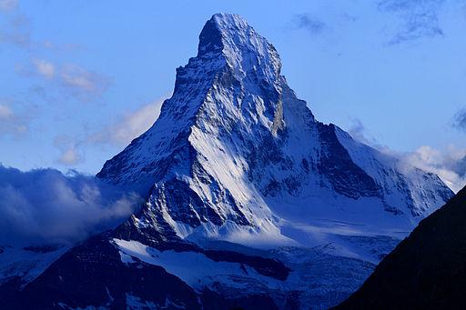 Matterhorn from Domhütte