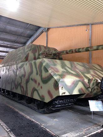 Kubinka - Panzer VIII Maus in Kubinka