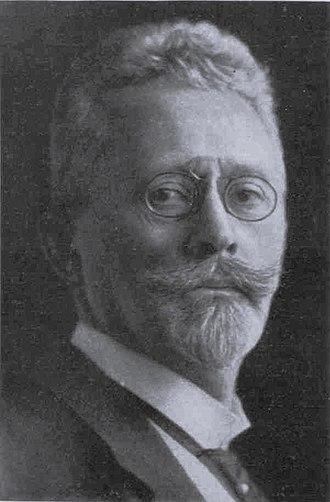 Max Littmann - Max Littmann, Portrait 1912