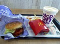McDonald's Teriyaki Chicken Filet-O set (Fried potato & MinuteMaid Orange).jpg