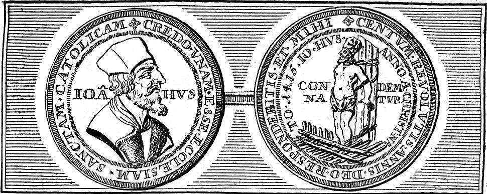 Medallion of Jan Hus