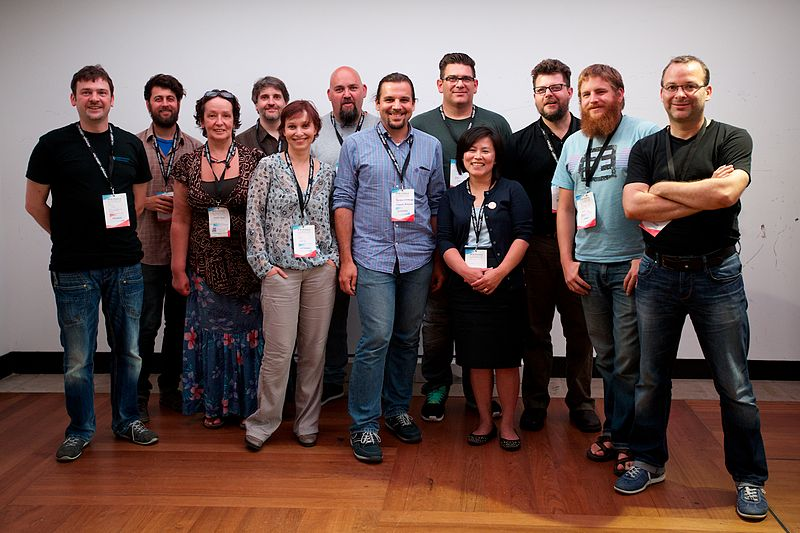 File:MediaWiki User Group at Wikimania 2014.jpg