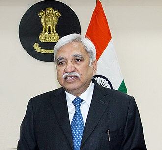 Chief Election Commissioner of India - Image: Media address by Chief Election Commissioner of India, Shri Sunil Arora on 2nd December 2018 (cropped)