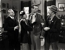 Filmo daŭre de Edward Arnold, Barbara Stanwyck, Gary Cooper, kaj Walter Brennan