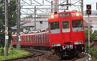 Meitetsu 100 series Japanese train type