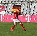 Melanie Behringer beim Elfmeter BL gg. SC Freiburg Muenchen-1.jpg